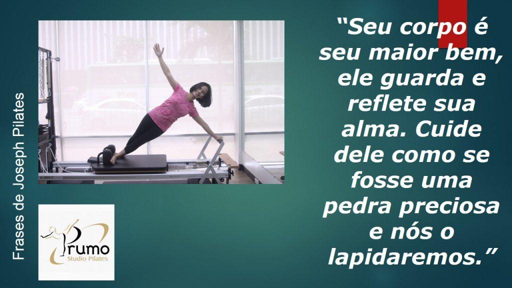 Frases De Joseph Pilates Prumo Pilates